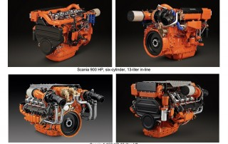 Scania 900 and 1,150 HP Engines